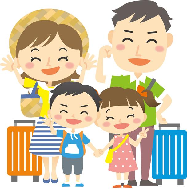 家族旅行の持ち物リスト 子供を連れての初挑戦でも困らないために 2016